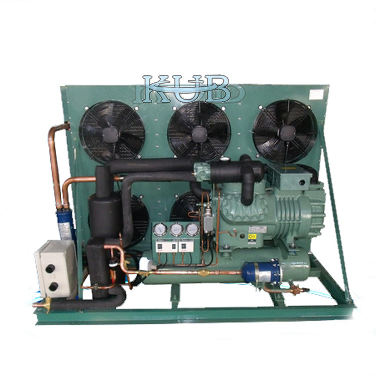 S6G-25.2Y  2 Stage Bitzer Air Cooled Condensing Units 25 HP Solid Valve Plate Design