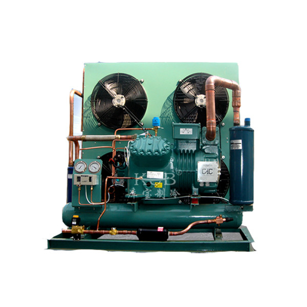 Air Cooling 4HE 18 Refrigeration Condensing Unit 15HP 21100W Compressor Unit