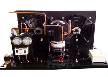 ZB38KQE-TFD Commercial Condensing Unit , Condensing Unit Components Scroll Compressor Low Temperature