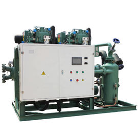 Bitzer compressor HSN7471-75Y refrigeration cold storage machinery with electrical control boxes